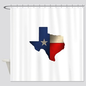 State of Texas1 Shower Curtain