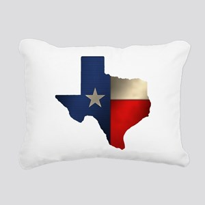 State of Texas1 Rectangular Canvas Pillow