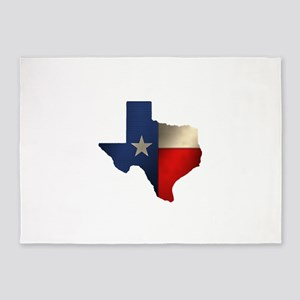 State of Texas1 5'x7'Area Rug