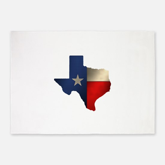State of Texas1.png 5'x7'Area Rug