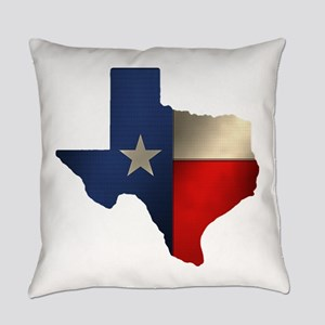 State of Texas1 Everyday Pillow