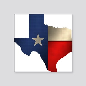 State of Texas Rectangle Sticker