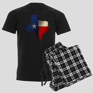 State of Texas1 Men's Dark Pajamas