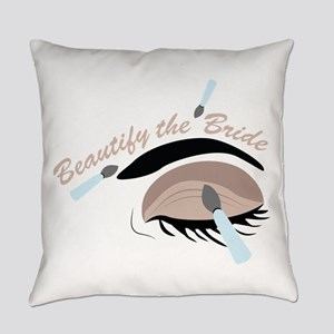 Beautify The Bride Everyday Pillow