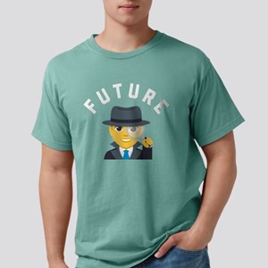 Emoji Future Detective Mens Comfort Colors Shirt