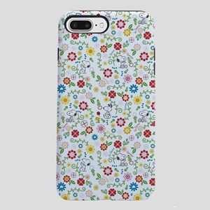 Peanuts Snoopy Spring Pattern iPhone 8/7 Plus Toug