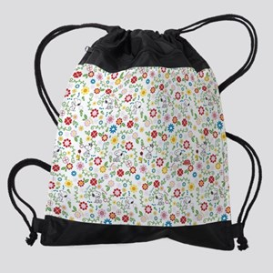 Peanuts Snoopy Spring Pattern Drawstring Bag