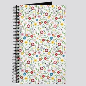 Peanuts Snoopy Spring Pattern Journal