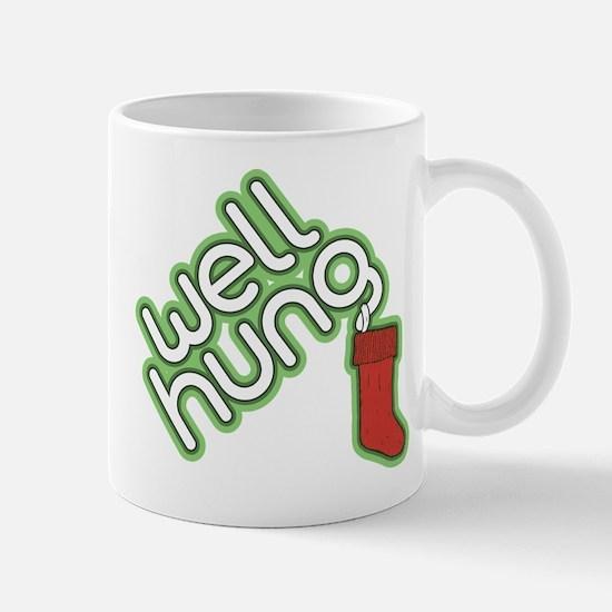 Funny Christmas - Well Hung Mug