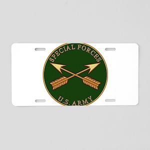 spf_branch Aluminum License Plate