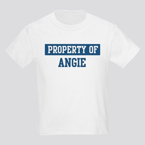Property of ANGIE Kids Light T-Shirt
