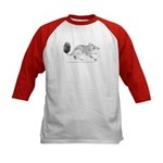 Brush Tailed Phascogale Kids Baseball Jersey