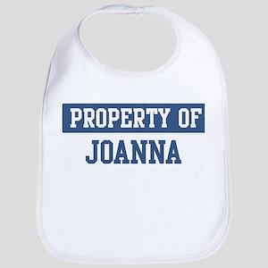 Property of JOANNA Bib