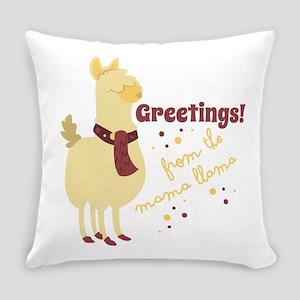 Mama Llama Everyday Pillow