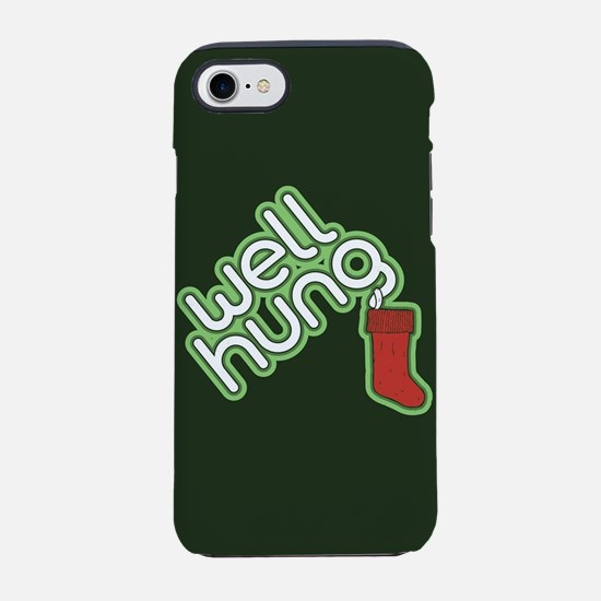 Funny Christmas - Well Hung iPhone 8/7 Tough Case