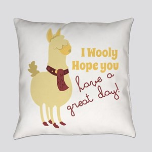 A Great Day! Everyday Pillow