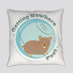 Getting Nowhere Everyday Pillow