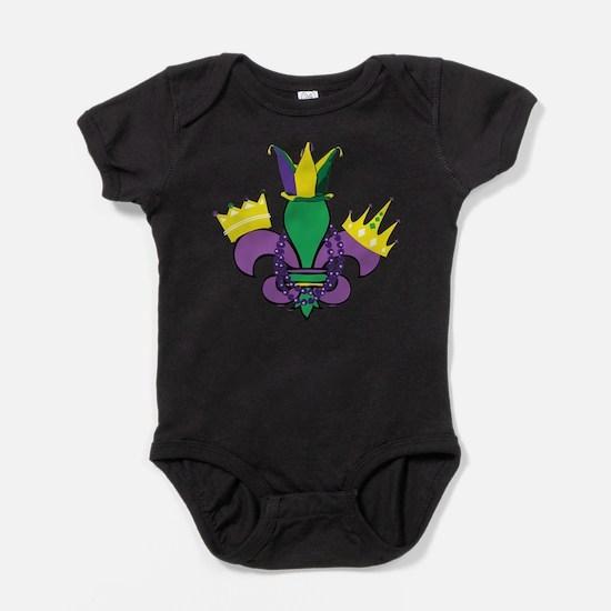 Mardi Gras Party Infant Bodysuit Body Suit