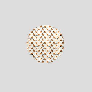 Llama Mania Mini Button
