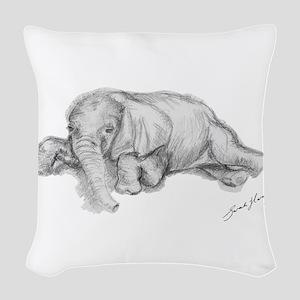 Ellie Woven Throw Pillow
