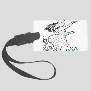 Pretty Pixie Large Luggage Tag