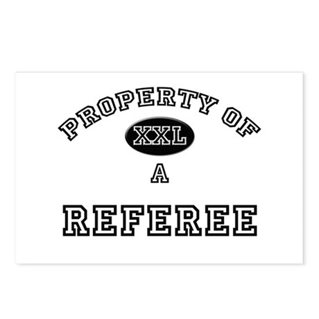 Property of a Referee Postcards (Package of 8)