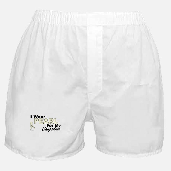 I Wear Pearl 3 (Daughter LC) Boxer Shorts
