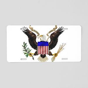 eag;e_seal_pln8 Aluminum License Plate
