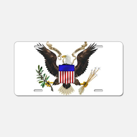 eag;e_seal_pln8.png Aluminum License Plate