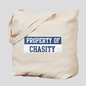 Property of CHASITY Tote Bag