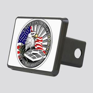9_11_memory Rectangular Hitch Cover