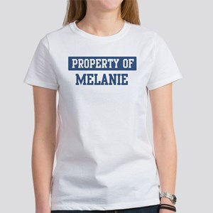 Property of MELANIE Women's T-Shirt