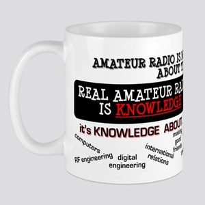 Amateur Radio is Knowledge Mug