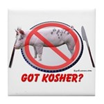 Got Kosher Tile Coaster