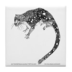 Spot Tailed Quoll Tile Coaster
