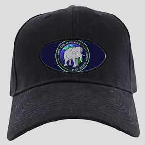 88b170ea4a6 Save The Elephants Hats - CafePress
