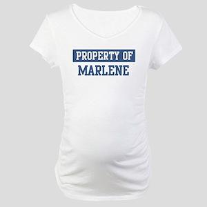 Property of MARLENE Maternity T-Shirt