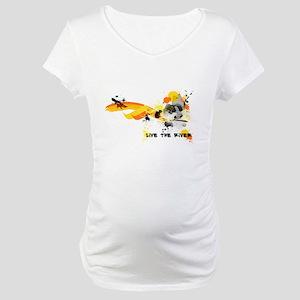 Kayak Capers Maternity T-Shirt