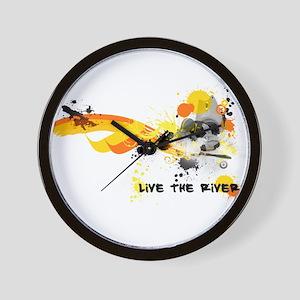 Kayak Capers Wall Clock