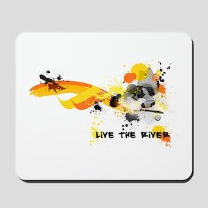 Kayak Capers Mousepad