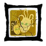 Fractonia Memory Beast Throw Pillow
