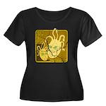 Fractonia Memory Beast Plus Size T-Shirt