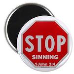 Stop Sinning Magnet