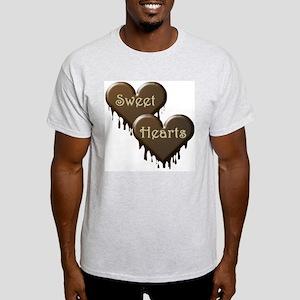 Chocolate Sweethearts Ash Grey T-Shirt