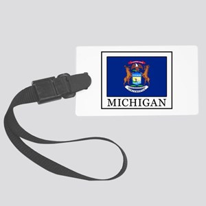 Michigan Large Luggage Tag