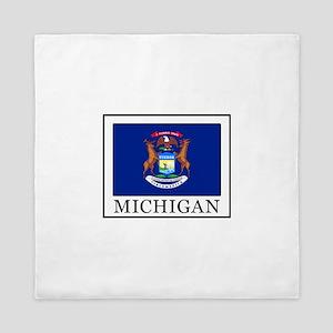 Michigan Queen Duvet