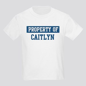 Property of CAITLYN Kids Light T-Shirt