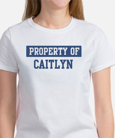 Property of CAITLYN Women's T-Shirt