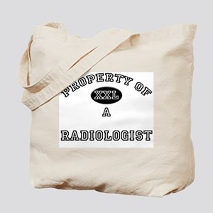 Property of a Radiologist Tote Bag