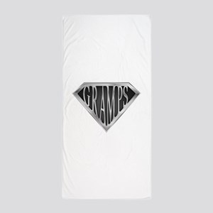 spr_gramps2 Beach Towel